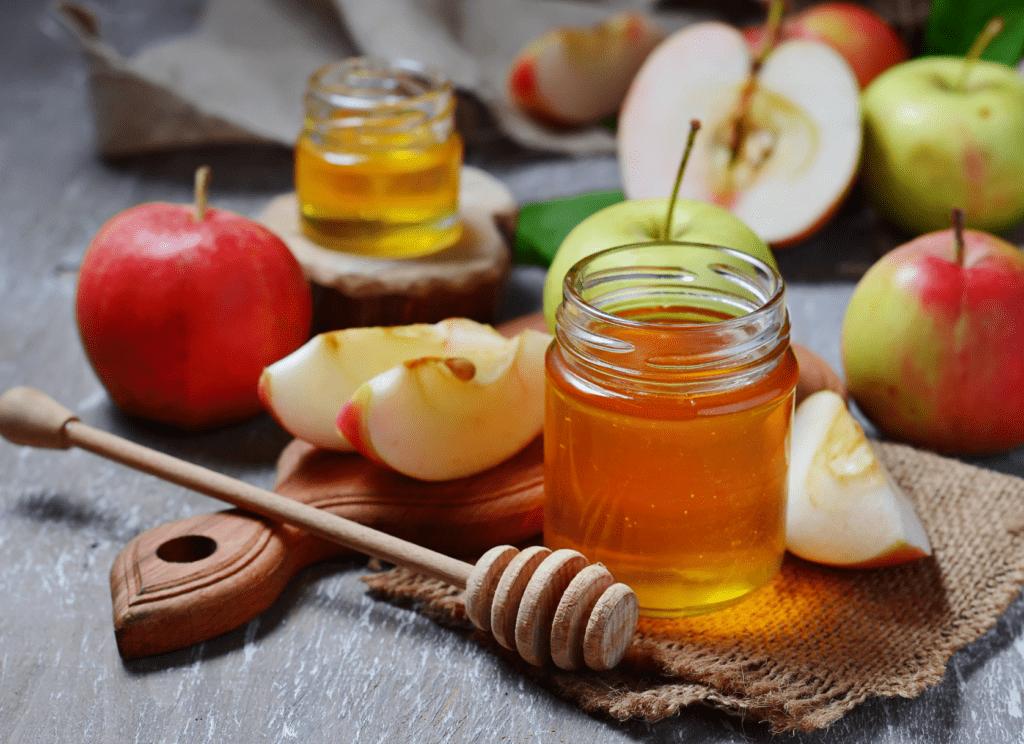 pommes et du miel à Roch Hachana
